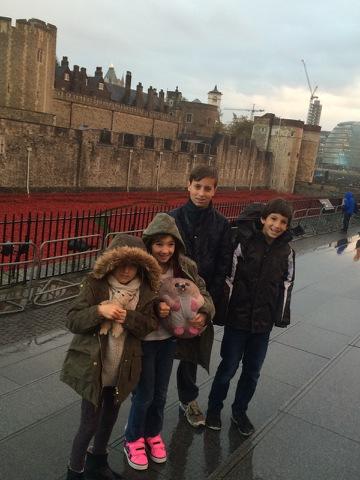 kids at poppies